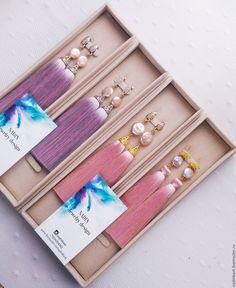 "Купить Серьги кисти ""Бежево-розовый всплеск"" шелк, барочный жемчуг - комбинированный, розово-бежевый Tassel Earing, Tassel Jewelry, Fabric Jewelry, Jewellry Box, Wire Jewelry Rings, Small Jewelry Box, Silk Thread Earrings, Earring Cards, Jewelry Packaging"