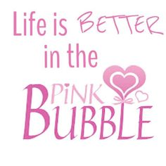 #pink bubble