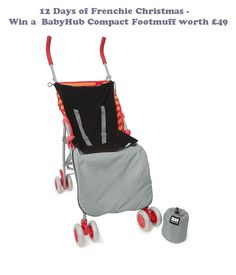 Win a BabyHub Compact Footmuff in our new 12 Days of Frenchie Christmas. It's the perfect item to keep your little one warm and cosy!