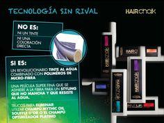 Muy pronto podrás disfrutar del servicio HAIR chalk de L'Oréal Professionnel en Oh! Peluqueros  Un revolucionario tinte al agua combinado con polímeros de micro-fibra. Una película súper fina que se adhiere a la fibra para un styling que no mancha y que resiste al agua.