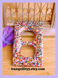 Candy Sprinkle Electric Outlet  Cover Super Sale by tranquilityy