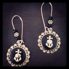 Love faith hope earrings by Nori