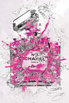 Enough Already Pink Canvas Print by Studio One Coco Chanel Wallpaper, Chanel Wallpapers, Wall Prints, Canvas Prints, Libros Pop-up, Image Deco, Mode Poster, Chanel Decor, Black And White Aesthetic