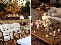 An amazing and chic wedding in the countryside of Sao Paulo, Brazil.