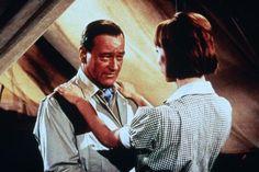 john wayne hatari   John Wayne, Elsa Martinelli, Hatari!