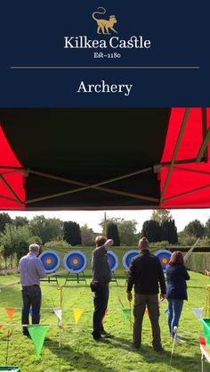 A noble and ancient game, around for 15,000 years now, come put your archery skills to the test. One of the many exciting experiences available at Kilkea Castle.