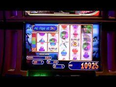 Slot machine bonus win on Great Wall at Revel Casino in AC