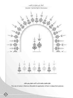 Amir Houshang Aghamiri -illumination artistic institution – Amazing tattoo patterns and designs Islamic Motifs, Islamic Art Pattern, Persian Motifs, Pattern Art, Islamic Art Calligraphy, Calligraphy Alphabet, Paisley Art, Illumination Art, Arabesque Pattern
