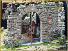 Christmas Stage Design, Pamplona, Christmas Nativity, 3d Max, Christmas Pictures, Xmas, Outdoor Structures, Inspiration, Halloween