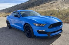 "For Sale: 2017 Ford Mustang Shelby GT350 (Grabber Blue, 5.2L ""Voodoo"" V8, 6-speed, 8K miles)"