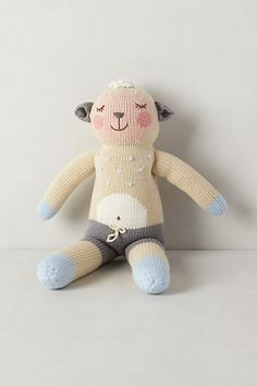 Handknit Doll - anthropologie.com