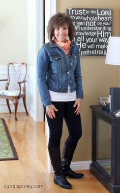 Fall outfit - burgundy skinny jeans and black top with leopard scarf. Description from pinterest.com. I searched for this on bing.com/images