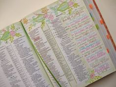 A Palette Full of Blessings.  # 9 -- Psalms 136-- by Sharon Grace