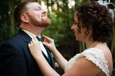 A Rustic, Natural Wedding at Black Mountain Sanctuary in Black Mountain, North Carolina