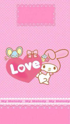 My Melody Wallpaper, Sanrio Wallpaper, Love Wallpaper, Badtz Maru, Keroppi, Hello Kitty Backgrounds, Hello Kitty Images, Sanrio Characters, Little Twin Stars