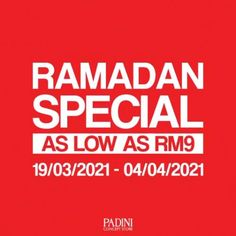 Padini Concept Store Ramadan Special Sale As Low As RM9 from 19 March 2021 until 4 April 2021 Special Promotion, Fashion Sale, Ramadan, Sunnies, March, How To Apply, Concept, Store, Sunglasses