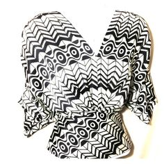 CYNTHIA STEFFE Black & Ivory Silk Geometric Blouse Gorgeous SILK blouse with pants or skirt! Especially with a black pencil skirt!! Dress it up or down, from the office to night life!  Pair with black shorts for a fabulous look!  Zipper on the side makes it easy to slip on & off. OFFERS WELCOME. Bundle and save more! Cynthia Steffe Tops Blouses
