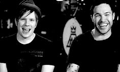 WHEN HE WINKED, AND YOU BARELY EVEN NOTICED PETE SITTING RIGHT NEXT TO HIM. | 31 Times Patrick Stump Ruined All Other Men For You