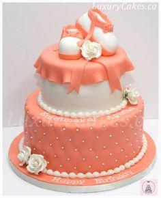 Bootie cake - by Sobi @ CakesDecor.com - cake decorating website