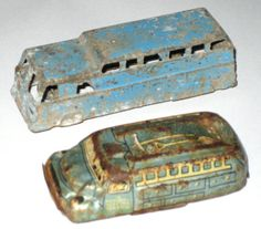 2 vintage toy cars tin litho japan as is re by sweetalicelovesyou
