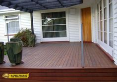 Cabot Deck of the Week winner Scott M. of Wellston, OH used Cabot stain to give his wood deck this deep, rich finish.