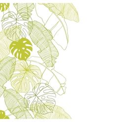 Leaves of palm tree seamless pattern vector 875791 - by incomible on VectorStock®
