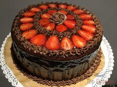 Schokoladen-Erdbeer-Torte