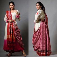 12 Innovative and Stylish Saree Draping Styles By Dolly Jain - Tikli Saree Wearing Styles, Saree Styles, Trendy Sarees, Stylish Sarees, Sari Blouse Designs, Bridal Blouse Designs, Dress Indian Style, Indian Dresses, Modern Saree