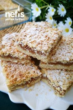 Baby Food Recipes, Healthy Recipes, Almond Flour Cookies, Tart, Cereal, French Toast, Bakery, Food And Drink, Cooking
