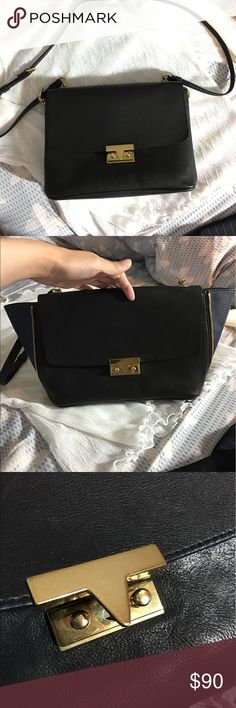 JCrew crossbody shoulder bag Convertible (shown in picture) so you can dress up or down. Used with care, barely any signs of wear but the buckle hardware is a bit loose. J. Crew Bags Crossbody Bags