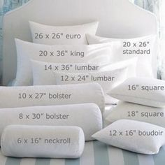 pillow reference - aka - what's all this pillow business?