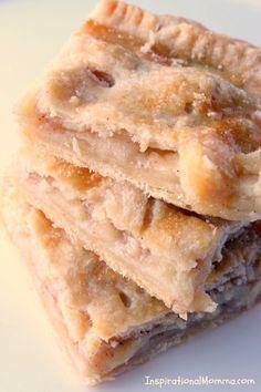 Apple Desserts, Homemade Desserts, Fall Desserts, Apple Recipes, Cookie Recipes, Snack Recipes, Dessert Recipes, Snacks, Bar Recipes