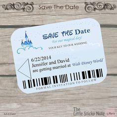 Disney Wedding- Disney Themed Save The Dates - - Disney-Hochzeit - Disney unter dem Motto Save the Dates - - Wedding Wishes, Our Wedding, Dream Wedding, Trendy Wedding, Destination Wedding, 1920s Wedding, Luxury Wedding, Wedding Table, Wedding Reception