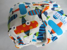 Organic One Size AI2 Cloth Diaper Planes by maybabyessentials, $21.50