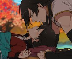Izuminokami Kanesada x Horikawa Kunihiro Chica Anime Manga, Anime Guys, Anime Art, Touken Ranbu Kanesada, Touken Ranbu Characters, Cutest Couple Ever, Manga Couple, Japanese Art, Cute Couples
