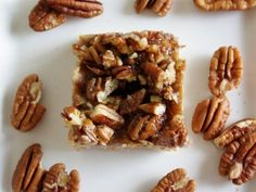 vegan pecan bar