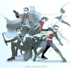Batfamily. <3