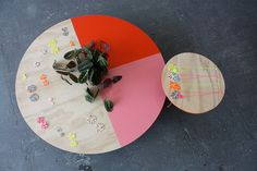 peaches and keen - cute little tables