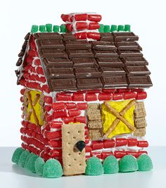 Who has time today to bake, assemble and decorate a gingerbread house?     With The Candy Cottage, the baking and assembly is over; and all that is left is the fun - the decorating!