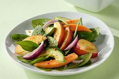 Papaya and Avocado Salad recipe