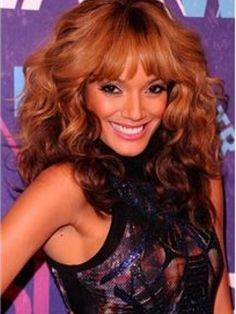 Selita Ebanks 150% Density Cheap Two-Tone Look Natural Medium Curly 100% Human Hair Wig about 16 Inches Item # W5836  Original Price: $946.00 Latest Price: $233.79