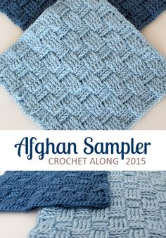 Square 2, Crochet Along Afghan Sampler