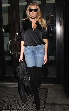 Casual cool: Charlotte McKinney was spotted out and about in New York City on Tuesday morn...
