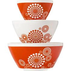 Pyrex® Vintage Charm™ Tickled Pink 6-Piece Mixing Bowl Set at Menards®: Pyrex® Vintage Charm™ Tickled Pink 6-Piece Mixing Bowl Set