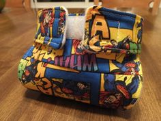 Surprise Inside Superman Doll Diaper with poo poo by lilydc, $5.00 - Supercute! Need to measure Kidlet's doll to see if this would fit.