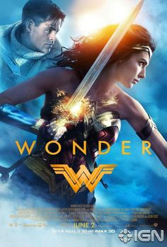 New Poster Of Wonder Womanstarring Diana Prince Gal Gadot And