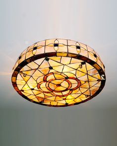 Round Drum Shade Tiffany Geometry Flush Mount Ceiling Light $195.99http://www.parrotuncle.com/round-drum-shade-tiffany-geometry-flush-mount-ceiling-light-cyhcl-1804.html