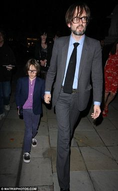 Jarvis Cocker and son