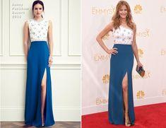 Anna Gunn In Jenny Packham – 2014 Emmy Awards