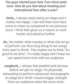 Jimin, Jin and Jungkook ❤ #BTS #방탄소년단 Interview Questions For STAR1 Magazine Vol.53 ~ August 2016 issue.